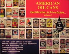 American Oil Cans, Identification & Price Guide
