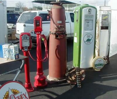 Electric Computing Gas Pumps 1 – Vintage Gas Station Photo Album