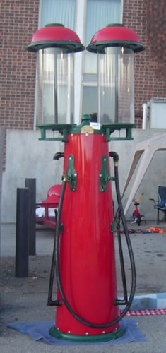 Visible Cylinder Gas Pumps 2 – Vintage Gas Station Photo Album