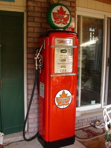 Electric Computing Gas Pumps 2 Vintage Gas Station Photo Album