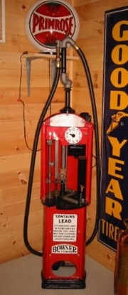 Bowser Red Sentry curb pump