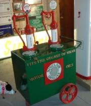 Lubester Sinclair cart