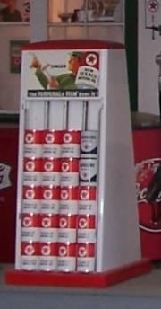 Seloil cabinet for Texaco