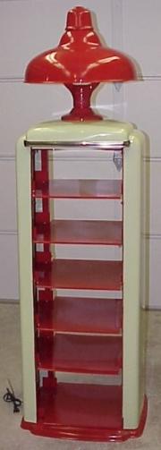Tokheim 98 lubar oil can cabinet