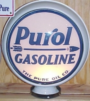 Purol-The-Pure-Oil-Co-1927-to-1930-15in-metal