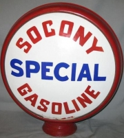 Socony-Special-milk-glass-1922-to-1926-15in-metal