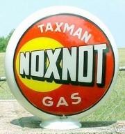 Taxman-Noxnot-1940s-glass