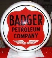 Badger-with-shield-1930s-glass