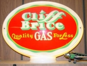Cliff-Brice-Quality-Gas-for-Less-1950-1970-glass-oval