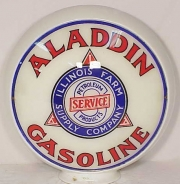 Aladdin-Gasoline-1940s-banded-glass
