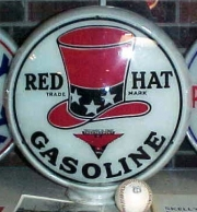 Red-Hat-Gasoline-on-glass