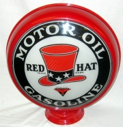 Red-Hat-Motor-Oil-Gasoline-15in-metal
