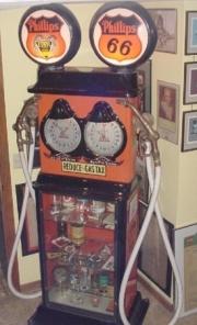 Erie clockface showcase twin Phillips 66