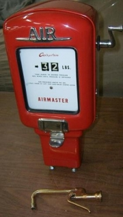 Gilbert and Barker air meter