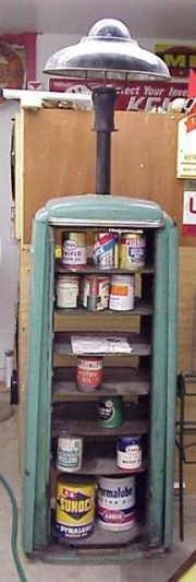 Tokheim 98 lubar oil can cabinet